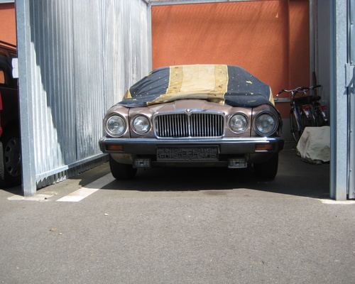Jaguar XJ 12 Garagen Fund
